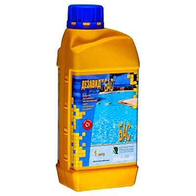 Дезавид Бас - химия для обеззараживания воды в бассейне