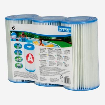 Сменный фильтр-картридж, 3 шт, для насос-фильтров, тип А