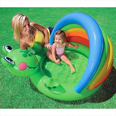 """Детский бассейн """"Жабка"""" с надувном дном"""