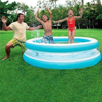 """Семейный надувной бассейн """"Бирюза"""", 203х51 см"""