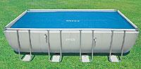 Обогревающее покрывало для прямоугольных бассейнов, 549*274 см, 29026/59957 Intex (INTEX, Китай)