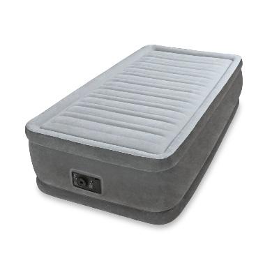 Надувная кровать с насосом Comfort-Plush (1-сп.)