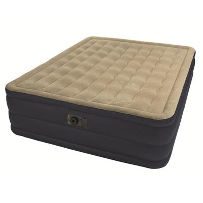 Надувная кровать Queen Plush Bed с насосом (2-сп.)