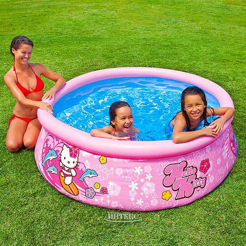 46fea7d233bd2 Надувной бассейн Easy Set 183*51 см - Hello Kitty купить в Москве по ...
