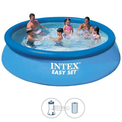 e8a2801c3dd4e Надувной бассейн Easy Set 366*76 см, фильтр-насос купить в Москве по ...