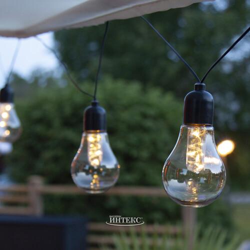 гирлянда лампочками