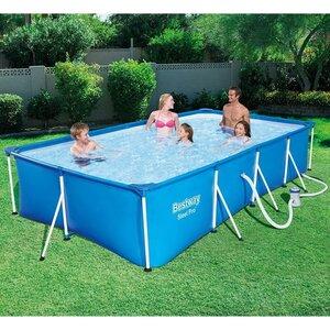 604e7cc83cfab Прямоугольный каркасный бассейн BestWay Steel Pro 400*211*81 см,  фильтр-насос