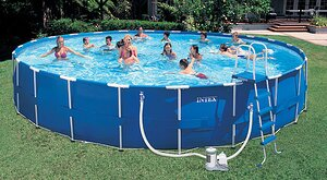 Бассейн Metal Frame Pool 732х132