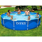 Каркасный бассейн Intex Metal Frame 366*76 см